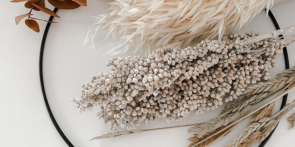 MÄDELSABEND | Flora Hoop Workshop