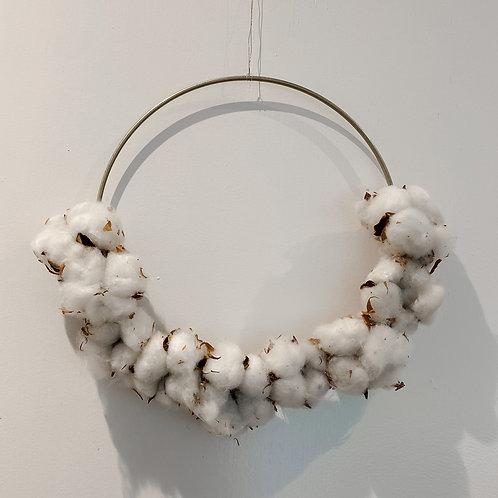 "Hoop   ""Cotton Gold""   ø 25 cm"