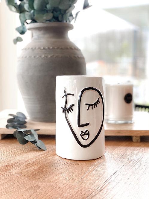 Vase Paola | weiß