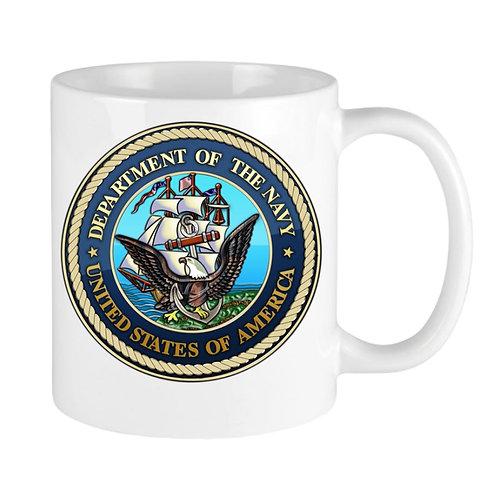 Soles4Vets/NAVY 11 oz coffee mug