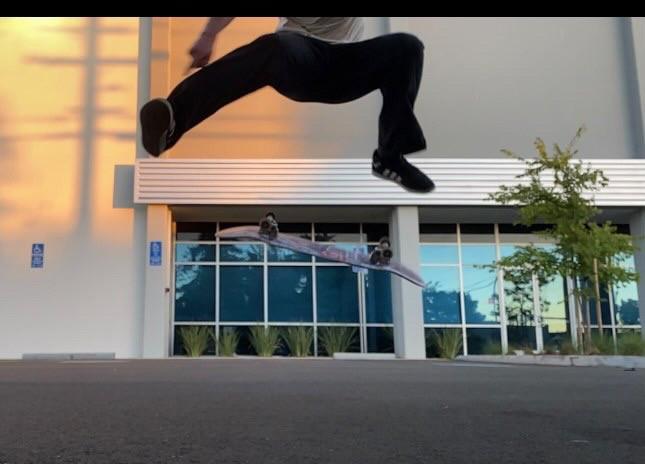 Brian Martin Skating