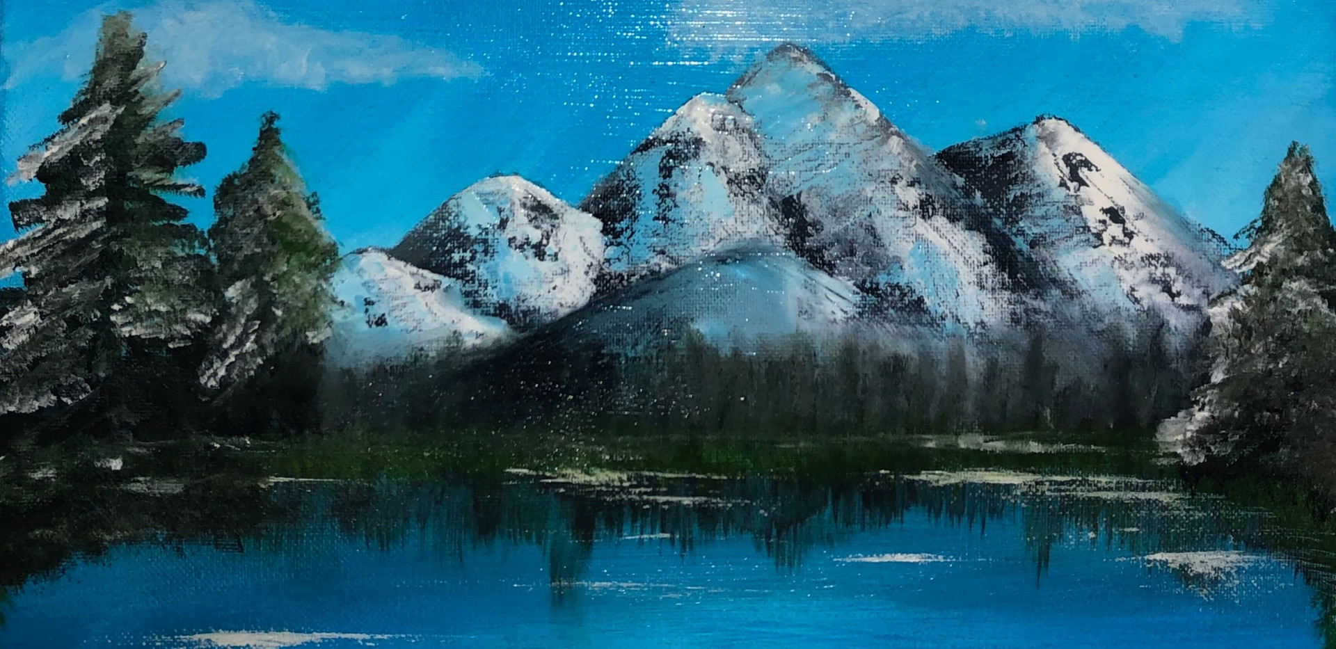 Painting By Kayla Sunardi