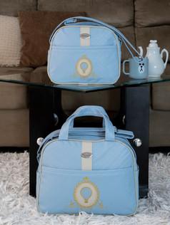 Conjunto de Bolsas maternidade Soninho   1022C Azul