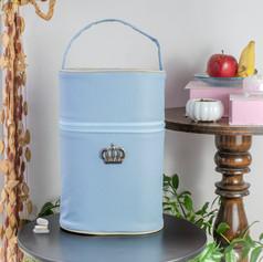 Porta mamadeira duplo Majestade | 103PM Azul