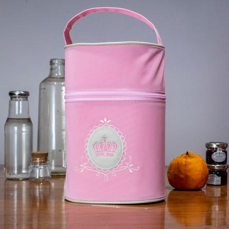 Porta mamadeira duplo Charminho | 200PM Rosa