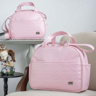 Conjunto de Bolsas Maternidade Florence   4545C Rosa
