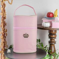 Porta mamadeira duplo Majestade | 103PM Rosa