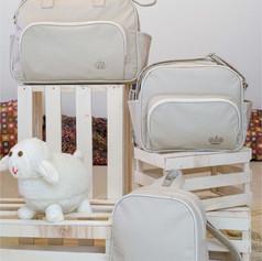 Kit Maternidade com 3 peças Realeza | 1410K3 Bege