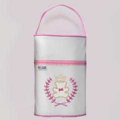 Porta mamadeira duplo Baby Soft | 0002 Rosa