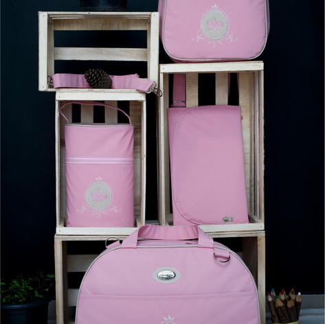 Kit Maternidade com 4 peças Charminho   200K4 Rosa