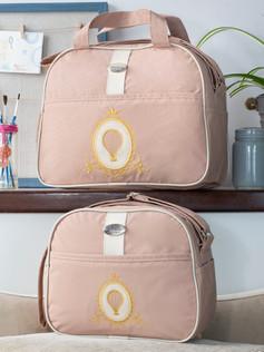 Conjunto de bolsas maternidade Soninho Bagum   1023C Bege