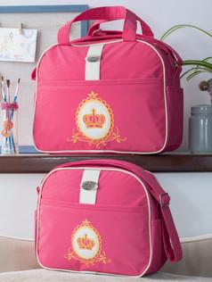 Conjunto de bolsas maternidade Soninho Bagum   1023C Pink