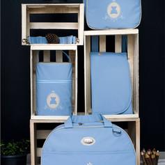 Kit Maternidade com 4 peças Charminho | 200K4 Azul