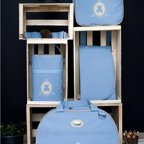 Kit Maternidade com 4 peças Charminho   200K4 Azul