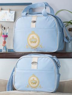 Conjunto de bolsas maternidade Soninho Bagum   1023C Azul