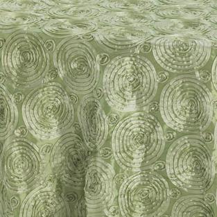 Celery Swirl Taffeta