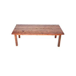 4' x 8' Mahogany Farm Table