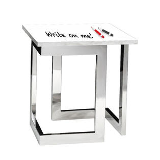 Marble End Table Whiteboard