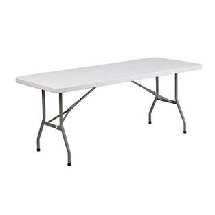 6' Standard Plastic Table
