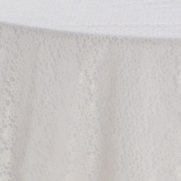 Ivory Garden Lace Overlay