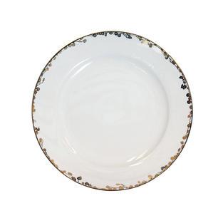 Gold Fleur Porcelain Charger