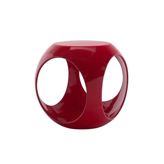 Red Rio End Table