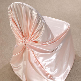Blush Satin Pillow Case Cover