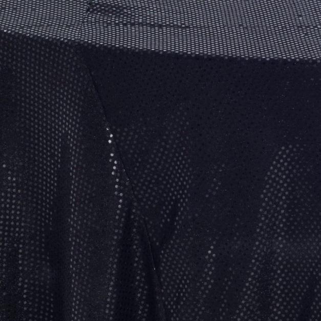 Black 3M Sequins Overlay