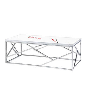 Marble Cocktail Table Top Whiteboard
