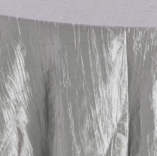 Platinum Crinkle Taffeta
