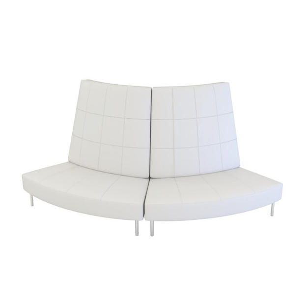 Endless Small Curve High Back Loveseat