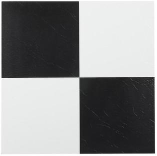 Black & White Vinyl Dance Floor