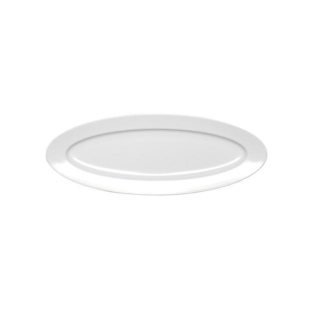 Oval White Serving Platter