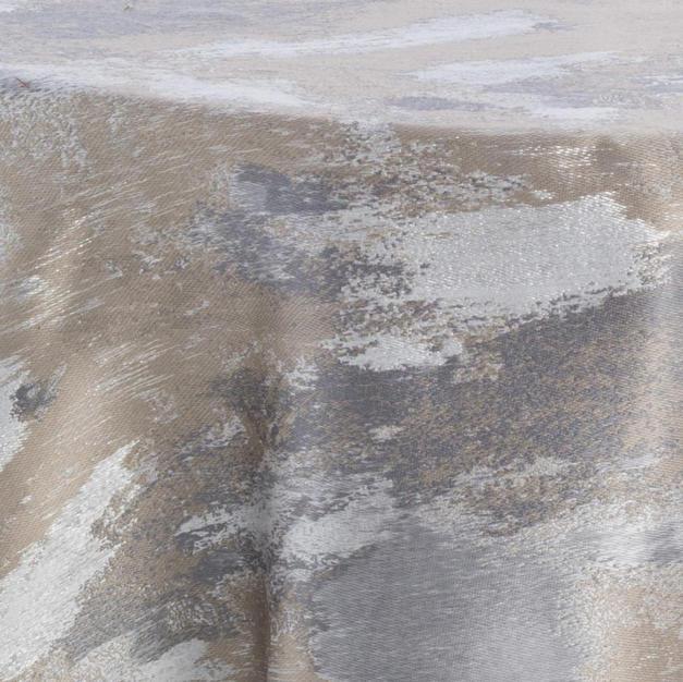 Watercolor Silve Metallic Reversed