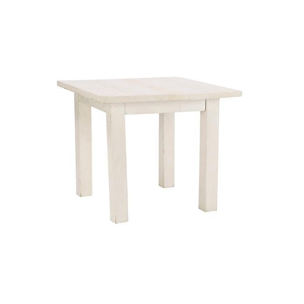 3' Whitewash Farm Table