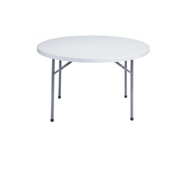 "48"" Round Plastic Table"