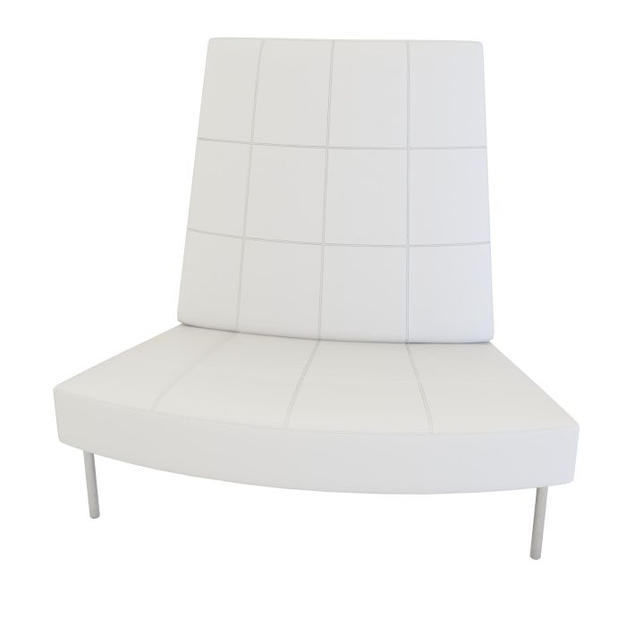 Endless Small Curve High Back Chair