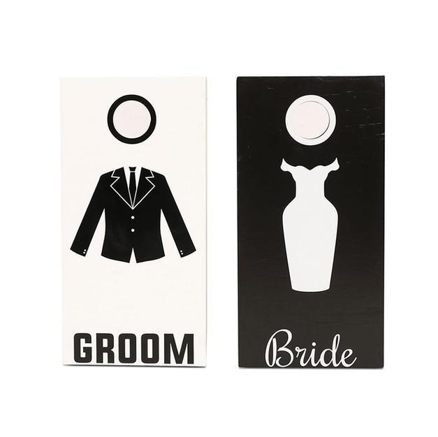 Bride Groom Cornhole