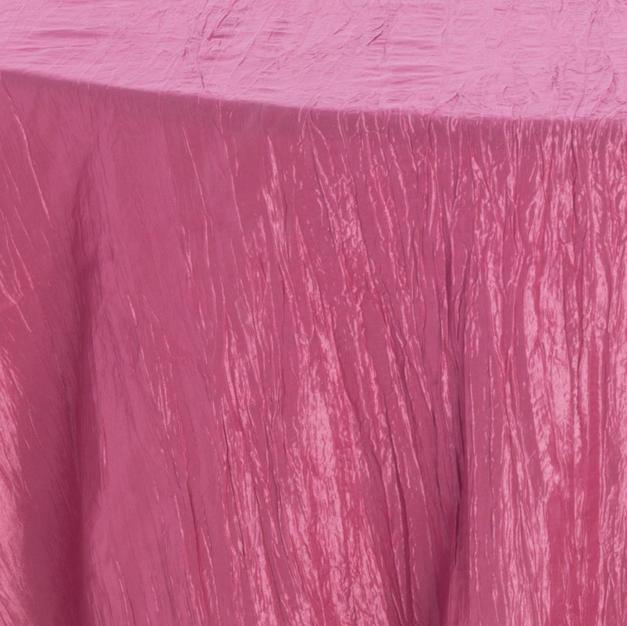 Raspberry Ice Crinkle Taffeta