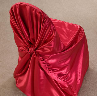 Red Satin Pillow Case Cover