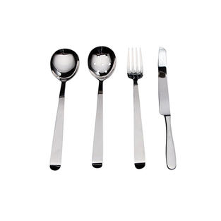 Stainless Steel Hooked Serving Pieces
