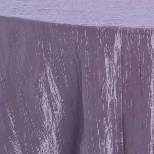 Smoked Purple Crinkle Taffeta