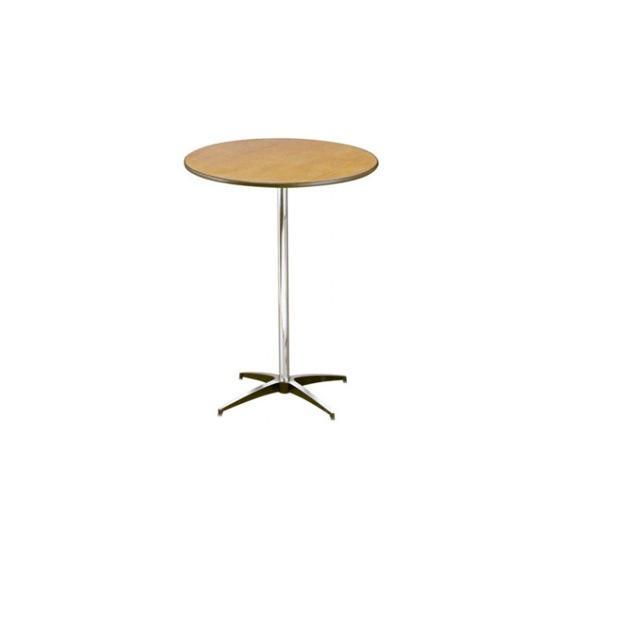 """30"""" Round Wooden Low Top Table"""