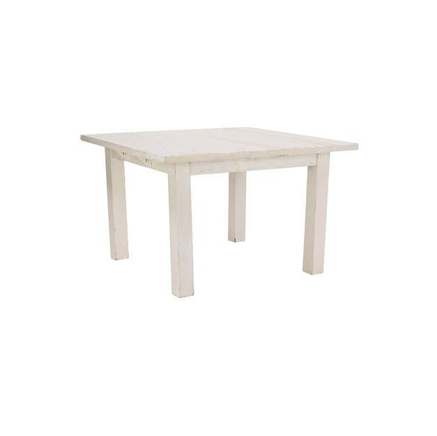 4' Whitewash Farm Table