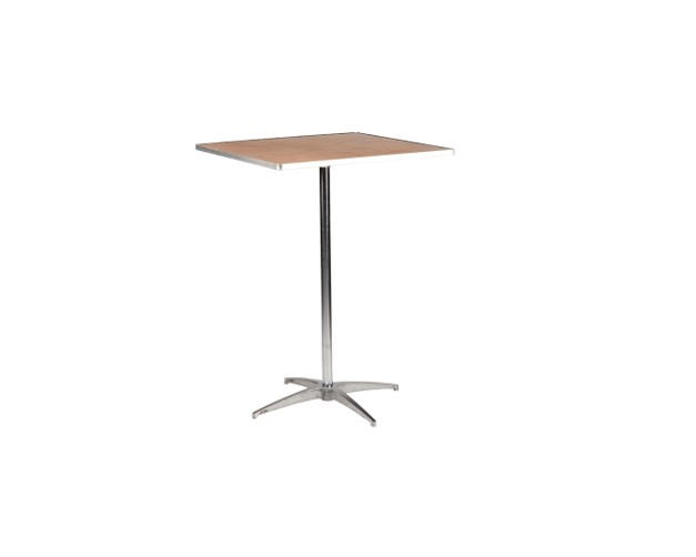 """36"""" Square High Top Table"""
