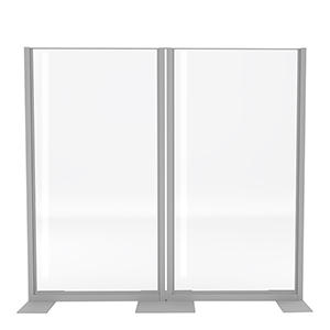 Clear Divider Wall Set