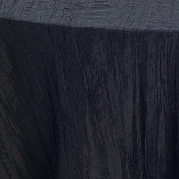 Raven Crinkle Taffeta
