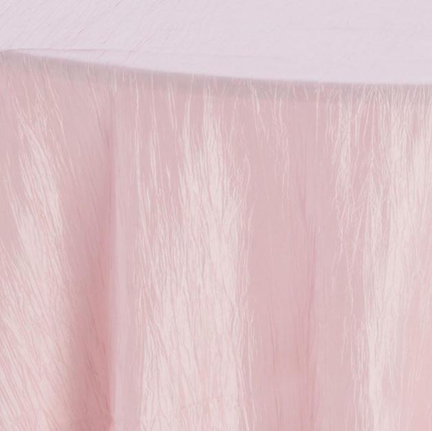 Blush Crinkle Taffeta