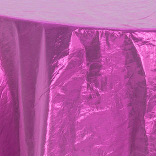 Purple Tissue Lame Overlay