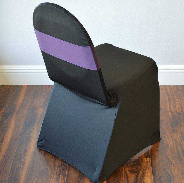 Purple Spandex Chair Band